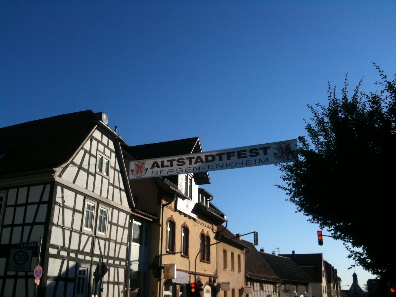 Altstadtfest in Bergen-Enkheim 2011
