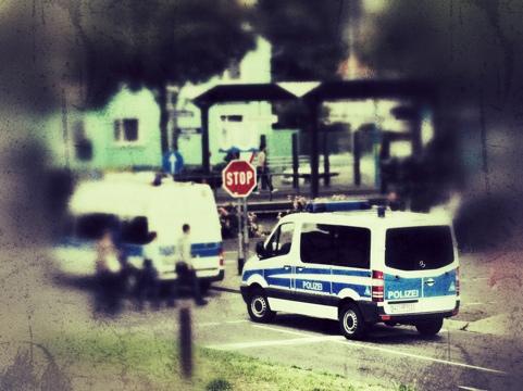 Bergen-Enkheim gesperrt wegen Demo