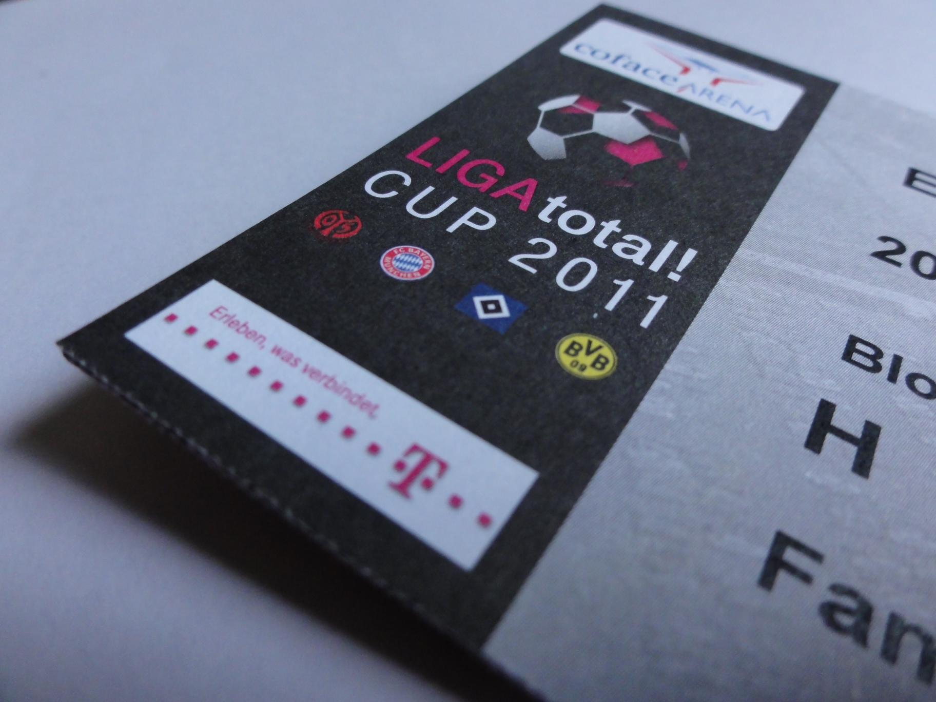 LIGA total! Cup 2011 – Coface Arena Mainz
