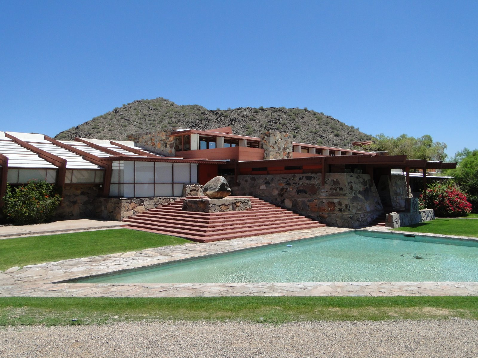 Taliesin West in Scottsdale – Architekt Frank Lloyd Wright