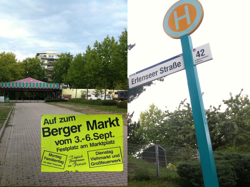 Berger Markt und Stadtschreiberfest 2011 in Bergen-Enkheim