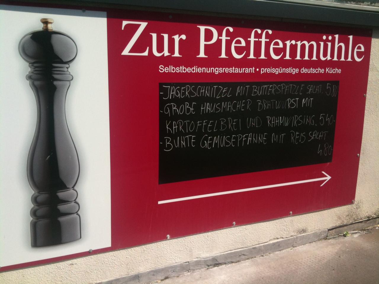 Zur Pfeffermühle – Kantine im Frankfurter Bahnhofsviertel
