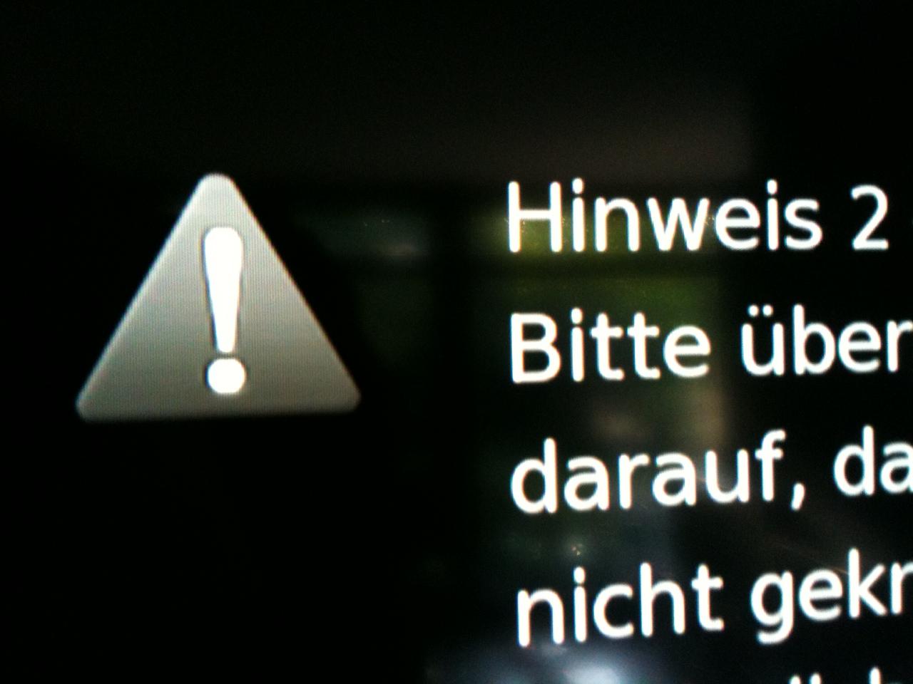 Unitymedia TV-Störung in Frankfurt