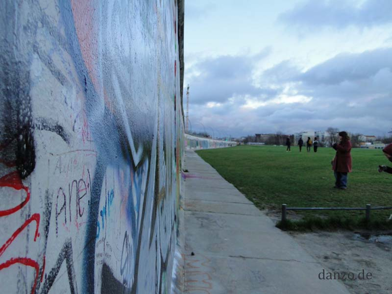 East Side Gallery in Berlin Friedrichshain